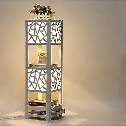 Floor lamp NAUY- Lámparas de pie de estantería Librería ...