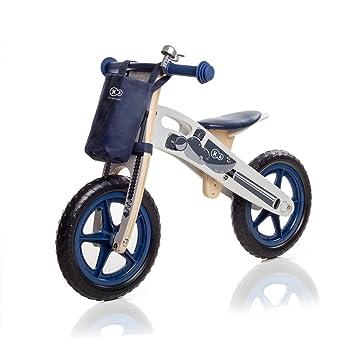 Kinderkraft Runner Laufrad aus Holz mit Tasche und Klingel in 2 ...