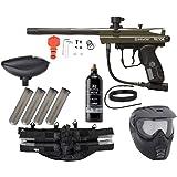 Action Village Kingman Spyder Epic Paintball Gun Package Kit (Victor) (Olive)