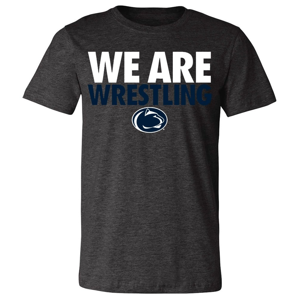 Penn State Nittany Lions We are Wrestling T-Shirt (2XL) by Blue Chip Wrestling