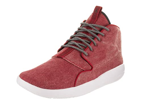 big sale 8d1bb 9d74e Nike Jordan Men s Jordan Eclipse Chukka Gym Red Black White Basketball Shoe  8 Men US  Amazon.co.uk  Shoes   Bags