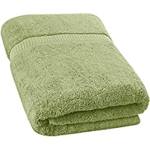 Luxury Bath Sheet Towel (35 x 70 Inch) Cotton Extra Large Beach Bath Towels, Machine Washable, Hotel Quality, Super Soft and Highly Absorbent Towels By Utopia Towels (Sage Green)