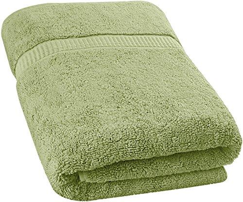 Utopia Towels Soft Cotton Machine Washable Extra Large Bath Towel (35 X 70 Inches) Luxury Bath Sheet Sage Green