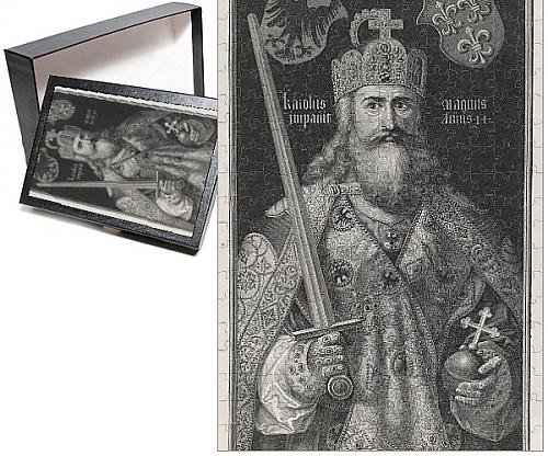 Lombards Costume (Photo Jigsaw Puzzle of Charlemagne, King and Emperor)
