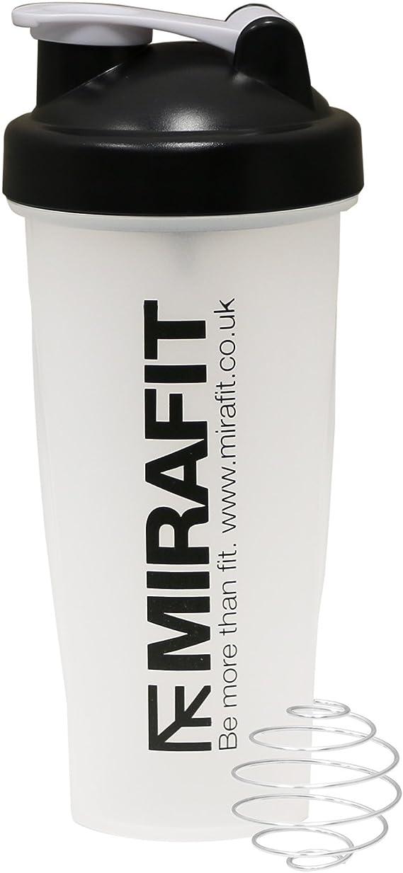 MiraFit - Mezclador para bebidas de proteínas para el gimnasio ...