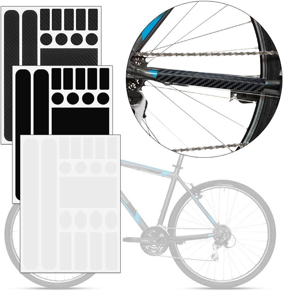 Protector de Cadena para Bicicleta con Adhesivo, para el Marco de la Bicicleta de montaña: Amazon.es: Coche y moto