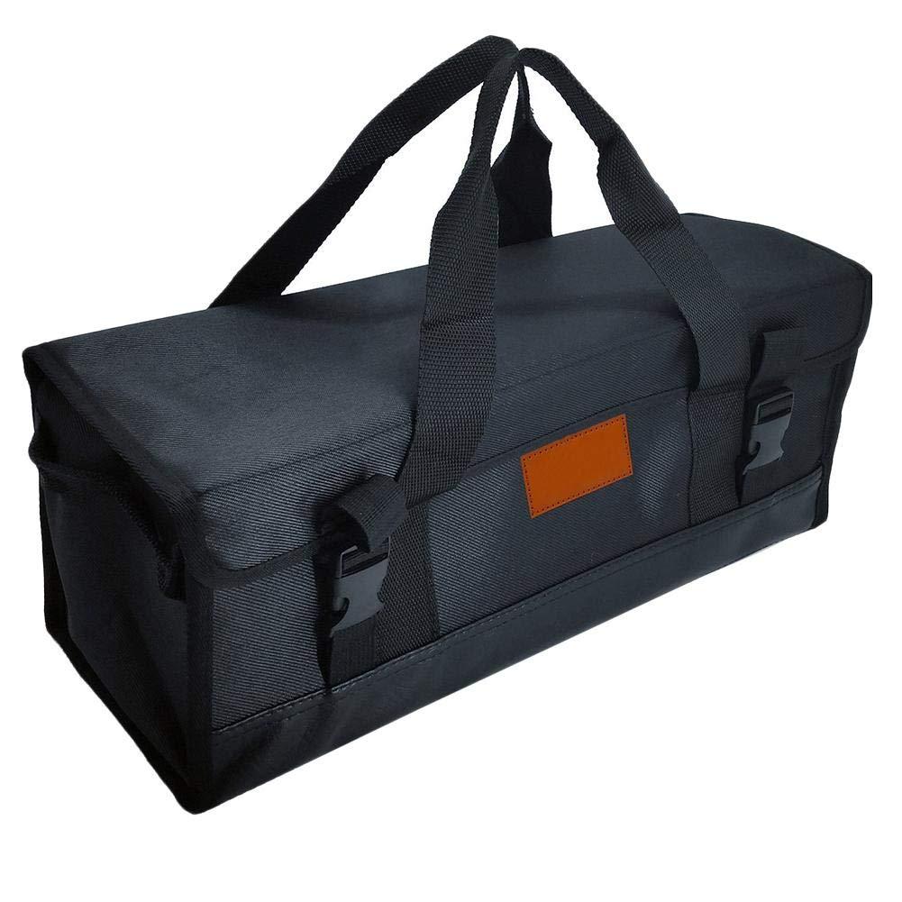 Arvin87Lyly Sac de BBQ Camping Rangement Portable,avec Poignées Robustes,Grande capacité,Durable, Résistant à l'usure, Stocké Différents Outils de Longueurs Grande capacité,Durable