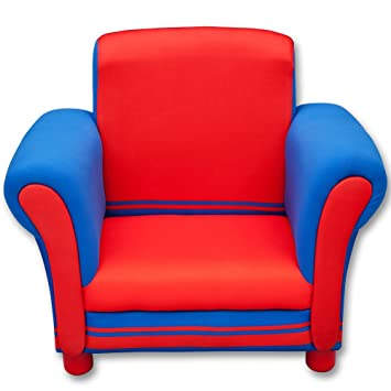 Kindersessel blau  Kindersofa - Couch - Sessel - Kindersessel mit Farbauswahl (rot ...