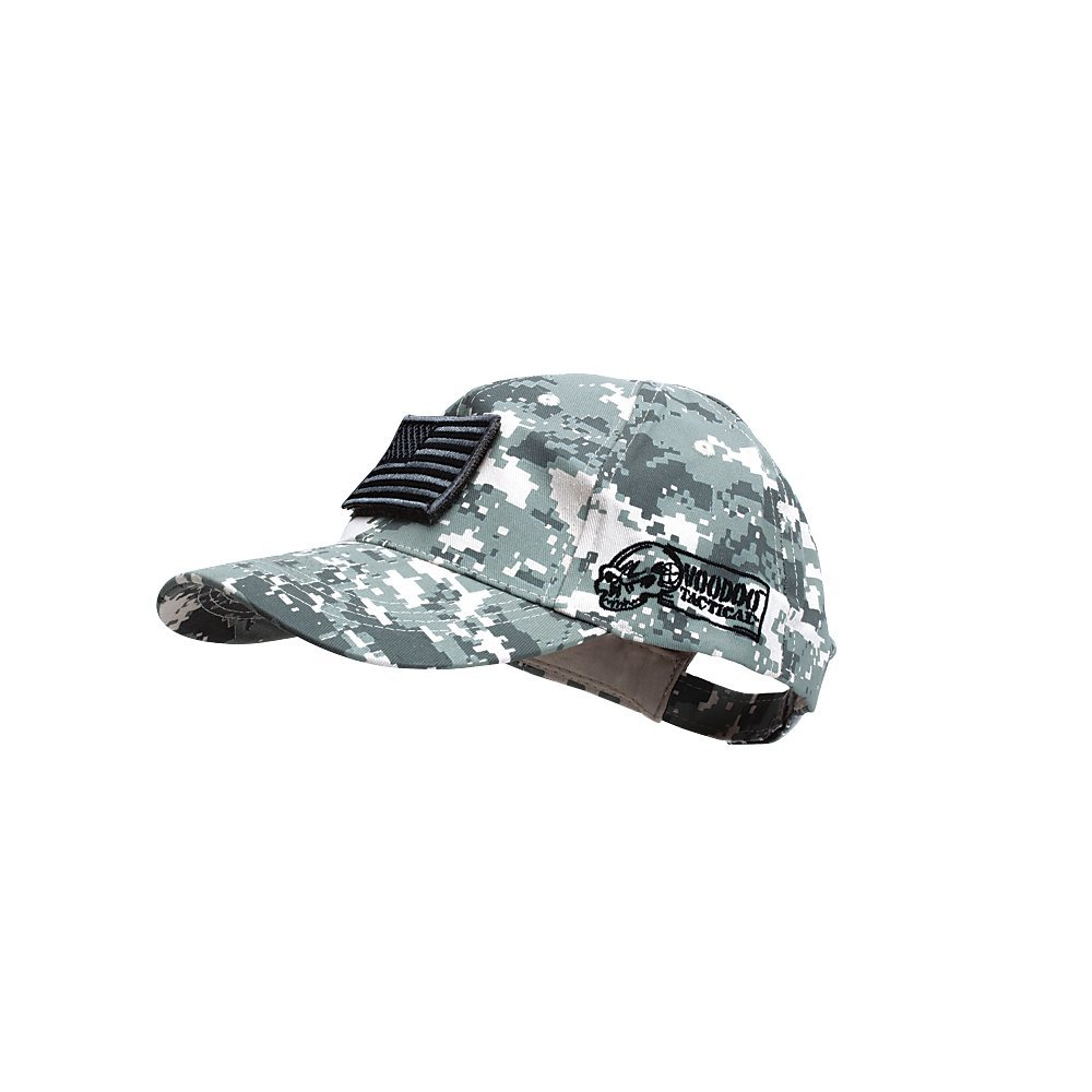 VooDoo Tactical 20-9351075000 Men's Cap with Removable Flag Patch, Army Digital