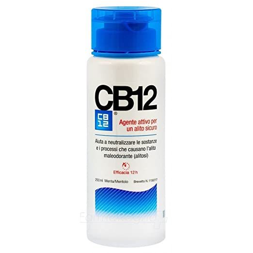 2 opinioni per Chefaro Pharma CB12 Collutorio, 250 ml