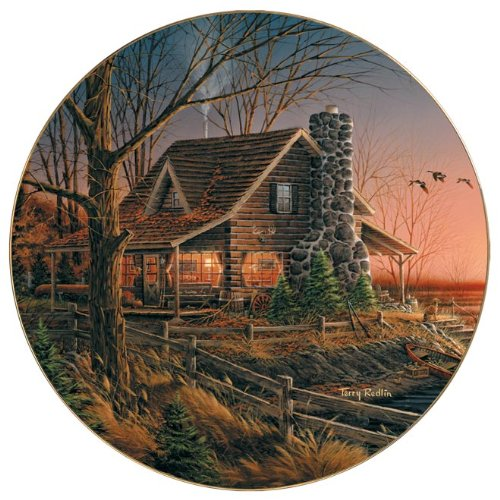 Comforts of Home Collector Plate by Terry -