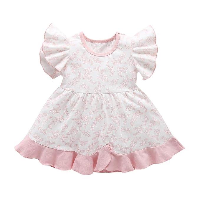 Amazon.com: SWNONE Vestido de niña para bebé, vestido de ...