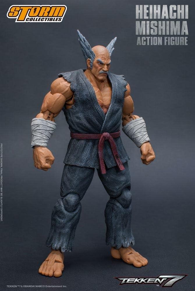 Amazon Com Storm Collectibles Tekken 7 Heihachi Mishima 1 12 Scale Action Figure Storm Collectibles Toys Games