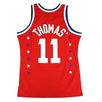 Amazon.com   Mitchell   Ness Isaiah Thomas 1983 NBA All Star East ... f11290763