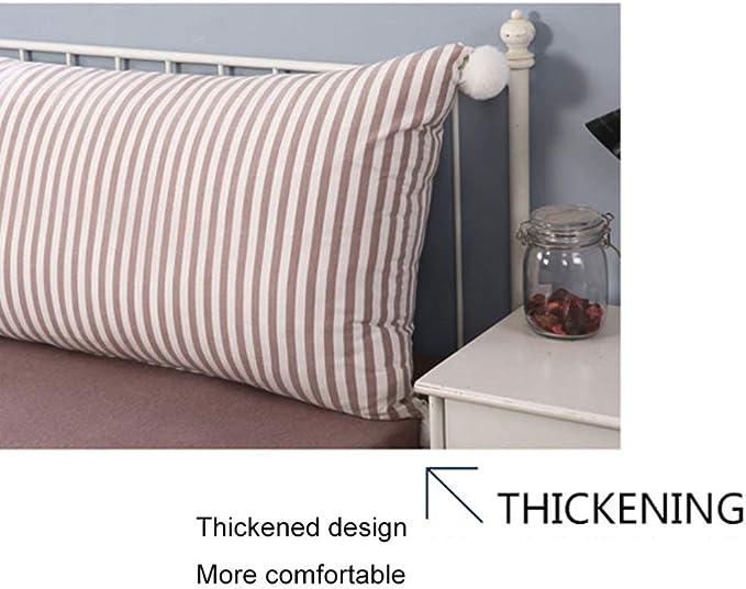 Kissen Bett Rückenlehne Kopfteil Kissen Lesen Rückenlehnenkissen Softpack Sofa Großes Rückenbett Doppelt Langes Kissen (7 Farben 5