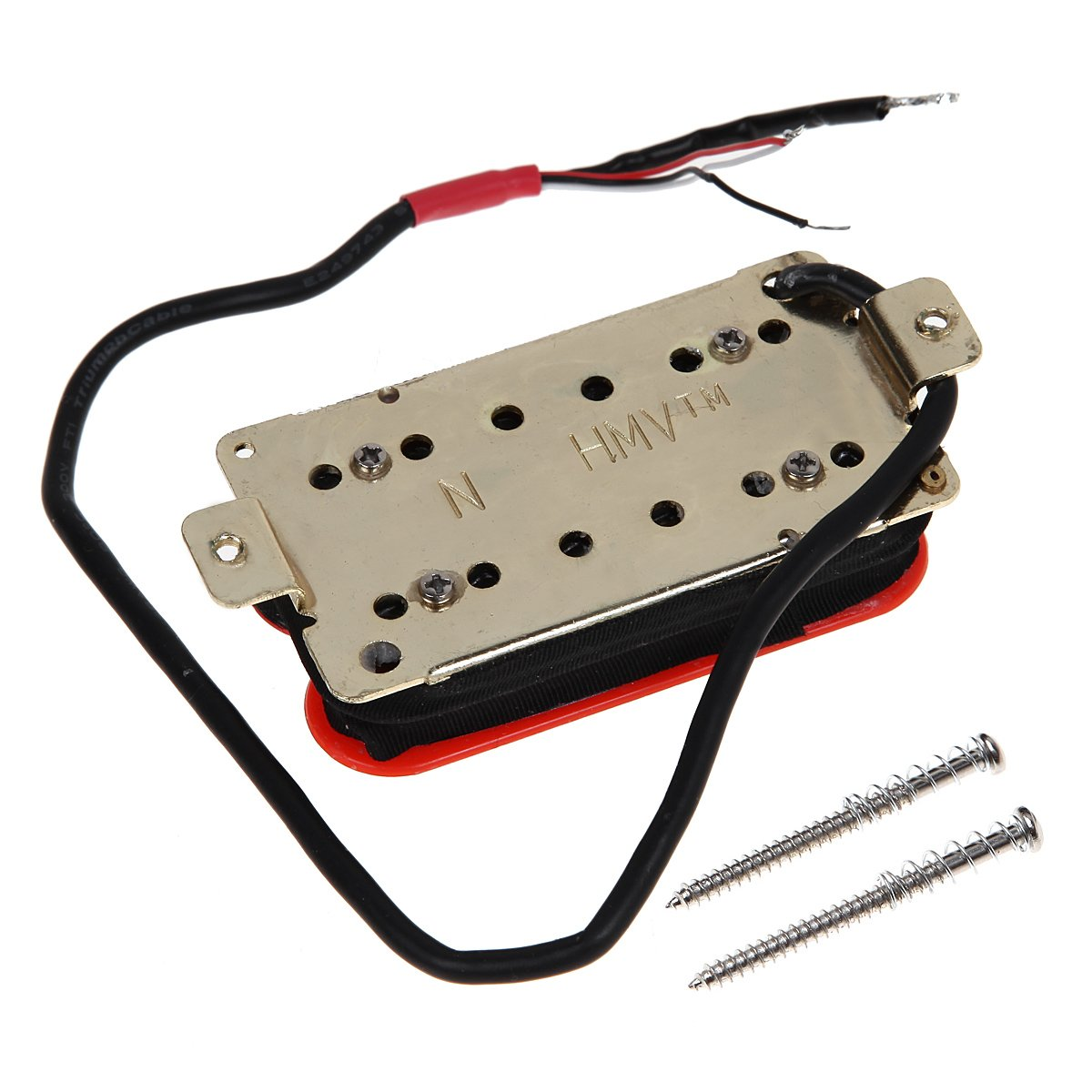 be952e4c70b8 Kmise MI0343 Bridge Neck Guitar Humbucker Pickup Set Invader Style ...