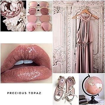 Amazoncom Lipsense Liquid Lip Color Precious Topaz 025 Fl Oz
