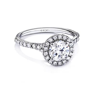 2.00 Carat Round Halo Simulated Diamond Engagement rings for women ... 12a0da0a65