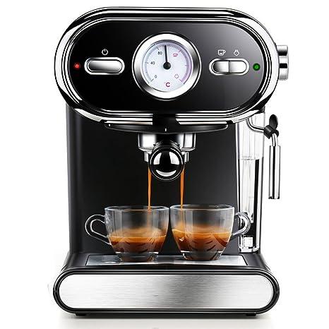 Inicio Máquina de café italiana Manual con vapor semiautomático, 1000w by DRM