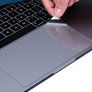 Lapogy [2 PCS] TrackPad Protector for 2020 Magic Keyboard Ipad Pro 12.9 inch (4th Generation) Release Model 2020 MXQU2LL/A,Clear Track pad Cover&Protective Film Skin,Keyboard Accessories,Transparent