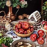 BigOtters Artificial Apples, 30PCS Fake Fruits Red