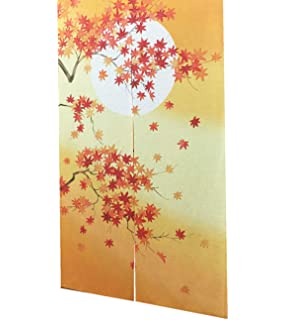 Cortina de puerta japonesa Noren para decoración del hogar, de LIGICKY, poliéster y mezcla de poliéster, Flor de cerezo, 33*59inch: Amazon.es: Hogar