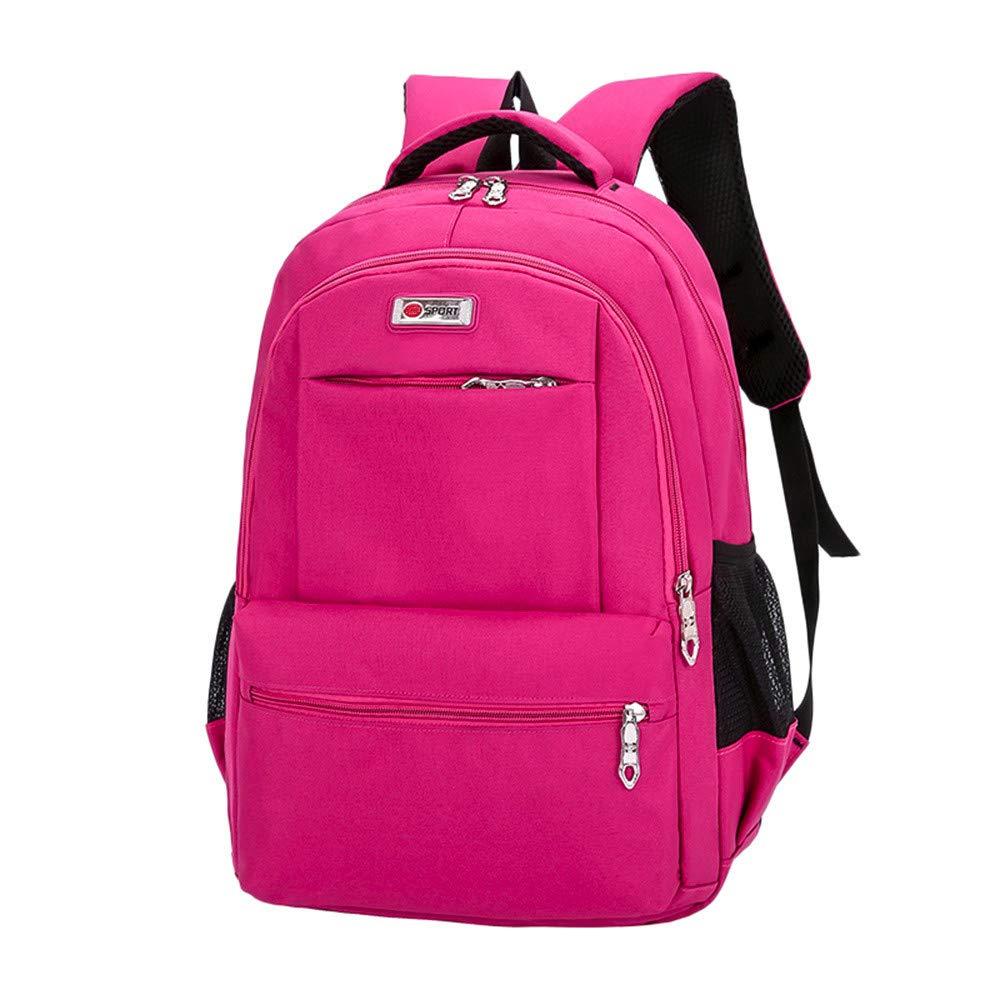 Koolee Backpack レディース Koolee Backpack  ホットピンク B07J1Q472X