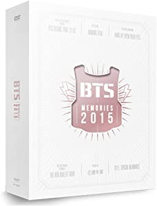 BigHit Entertainment BTS Memories of 2015 DVD [4 Discs Digipak with 108p Photobook] Extra Photocards Set