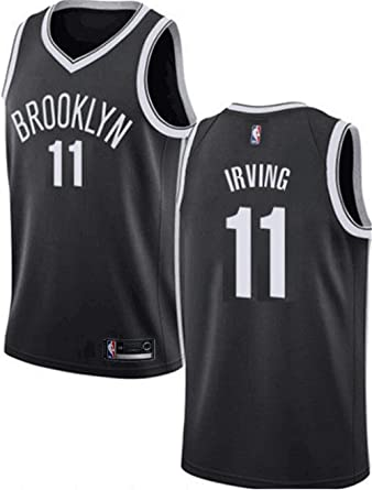 sale retailer eae9c b0dde Amazon.com: VF LSG Men's Brooklyn Nets #11 Kyrie Irving ...