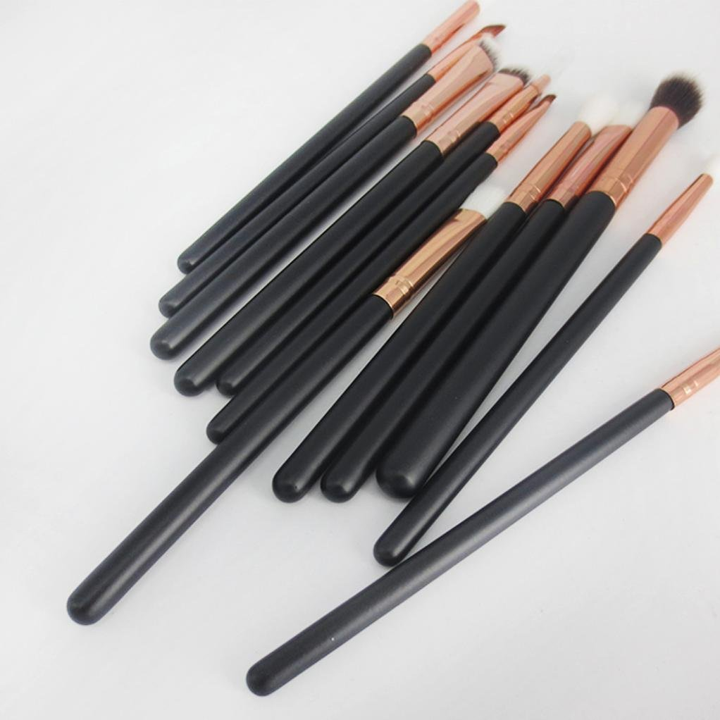 Amazon.com: Toraway Pro 12 Pcs/set Cosmetic Brush Set Makeup Brush Kits Tool: Beauty