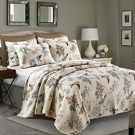 Amazon.com: Lelva American Country Style Comforter Sets ...
