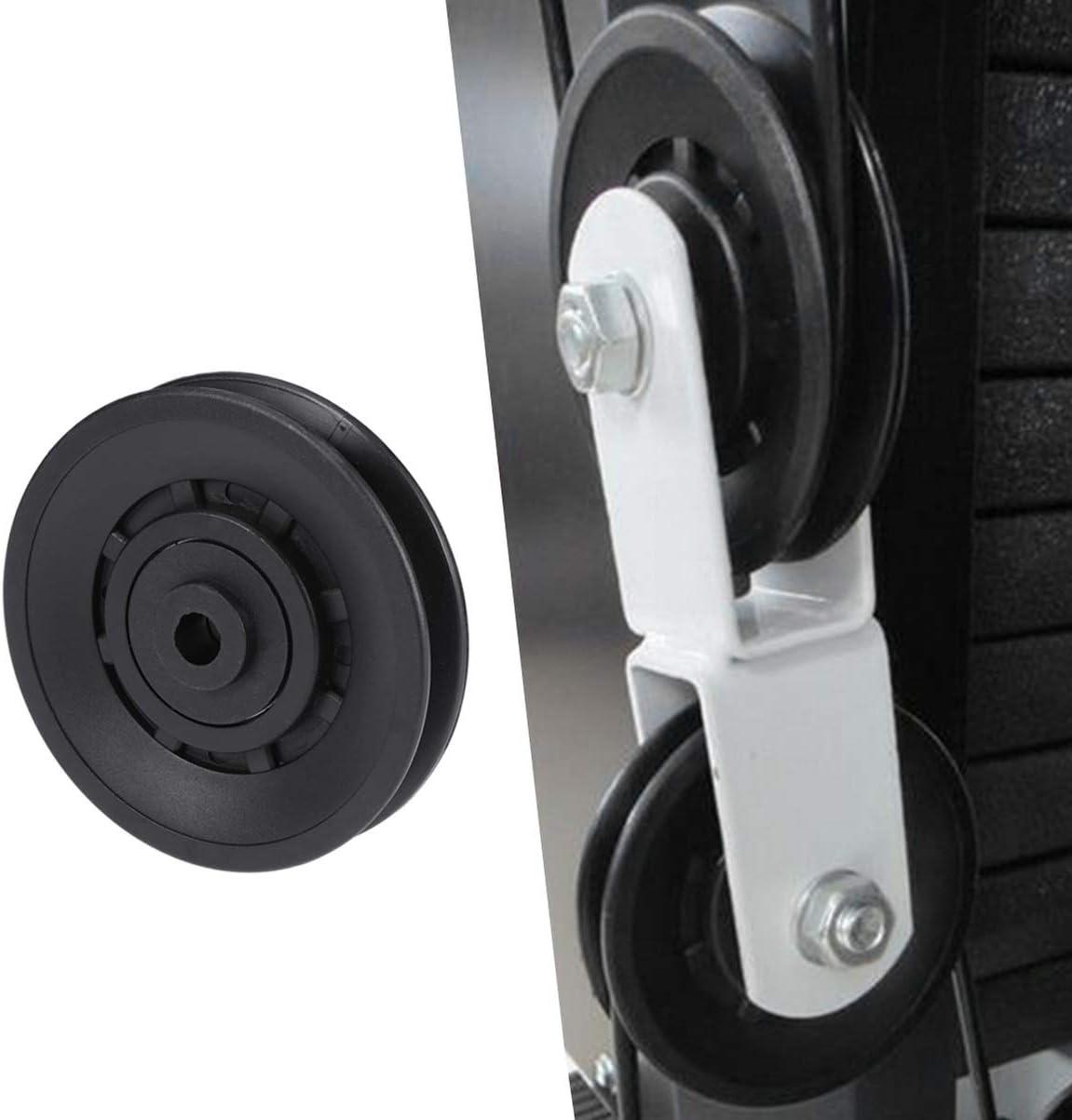 Fitness Lager Riemenscheibe Umlenkrolle für Fitness-Armtrainingsgerät,