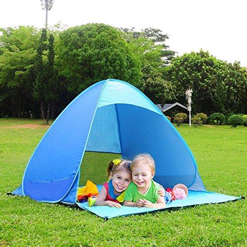 Pop Up Sun Shelter For Beach : Monobeach automatic pop up beach tent instant portable