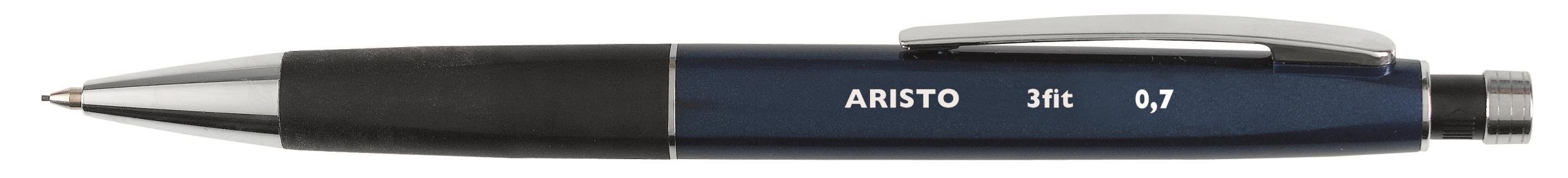 Aristo 3fit AR85307 Fine-Tip Pen 0.7mm Pack of 10 Blue / Black by Aristo (Image #1)