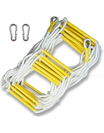 Construction Tools 30m High-quality Fire Rescue Equipment Fire Rescue Ladder Folding Aluminum Soft Ladder Escape Rope Ladder To Safety Self-help High Quality Goods Ladders