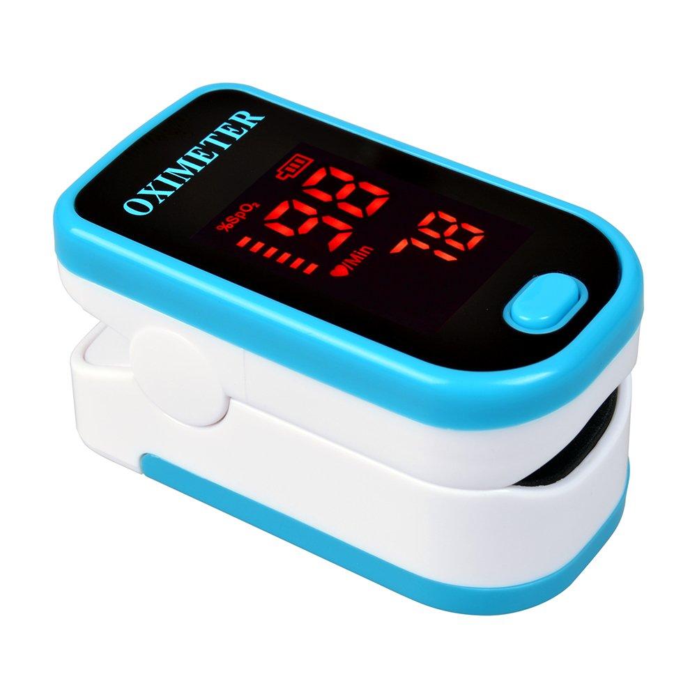 Oxímetro de pulso portátil Elera para medir SpOy frecuencia cardíaca con pantalla