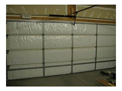 White Reflective Foam Core Garage Door Insulation Kit 9l X 7h