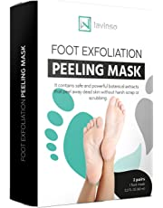 Foot Peel Mask 2 Pack Peeling Away Calluses and Dead Skin cells Make Your Feet Baby Soft Exfoliating Foot Mask Repair Rough Heels Get Silky Soft Feet by Lavinso