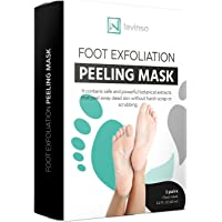 Foot Peel Mask 2 Pack, Peeling Away Calluses and Dead Skin cells, Make Your Feet Baby Soft, Exfoliating Foot Mask, Repair Rough Heels, Get Silky Soft