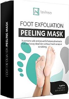 Amazon.com  Nexxerex.shop 2pair 4pcs Foot Mask for Legs Peel Dead ... 2ce701513034