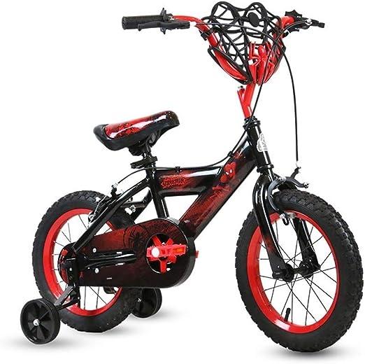 MDYMX Bicicleta para niños Bicicleta Infantil niño niña 2-4-6 ...