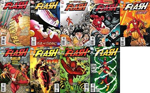 The Flash #237-245 (1987-2009) Limited Series DC Comics - 9 Comics