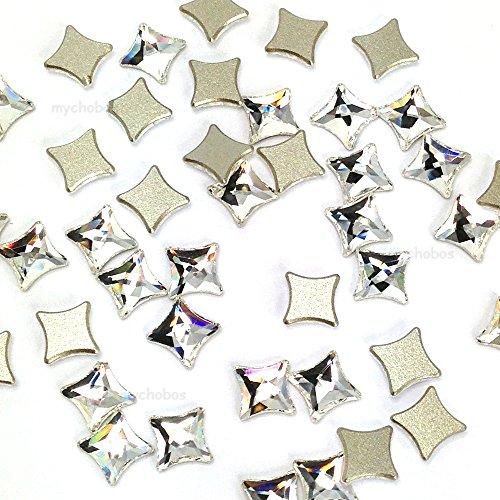 flat back swarovski crystals 6mm - 4