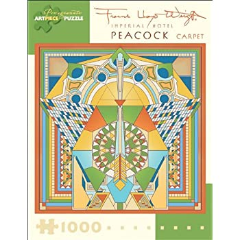 Amazon Com Frank Lloyd Wright Imperial Hotel Peacock
