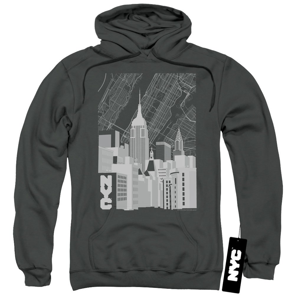 New York City - - Einfarbiger Herren Einfarbiger - Hoodie in Manhattan b711e8
