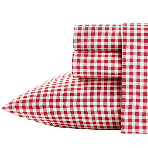 Poppy & Fritz Gingham Cotton Sheet