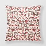 Lightinglife Chic Decorative Pillow Christmas Decorative Throw Pillow For Sofa Folk Nordic 18 X 18 Pillow