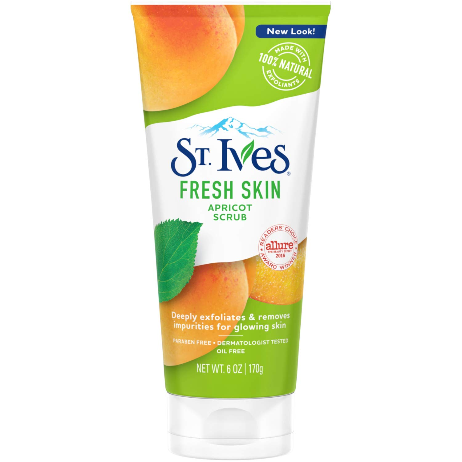 St. Ives Face Scrub Apricot 6 oz (Pack of 2)