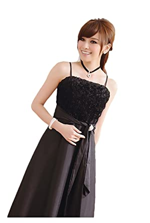 Comvison Floral Celebrity Tube Strap Appliques Slip Prom Dresses Formal Evening Dress: Amazon.co.uk: Clothing