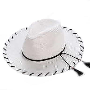 Mode Stroh Frau Hut Neu Sommer Handarbeit Häkeln Quasten Großer Hut ...